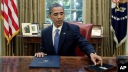 La orden prorrogada por Obama señala que los narcotraficantes en Colombia siguen siendo una amenaza para EE.UU.