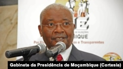 Armando Guebuza, antigo Presidente moçambicano