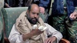 درخواست از دادگاه لاهه برای محاکمه سيف الاسلام قذافی در خاک ليبی