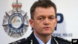 澳大利亚联邦警察代理局长安德鲁•科文