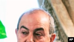 ایران عراق میں مداخلت سے باز رہے: ایاد علاوی