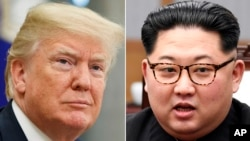 U.S. President Donald Trump, left, and North Korean leader Kim Jong Un are to meet in Singapore on June 12 on the issue of taking apart North Korea's nuclear weapons program. Experts are wondering how long the process would take and how much it will cost.