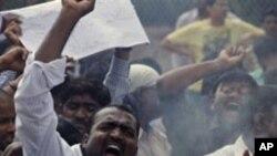 تلنگانہ ریاست کے لیے احتجاجی مظاہرہ: حیدرآباد دکن میں کاروبارِ زندگی ٹھپ