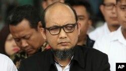 Penyidik senior KPK, Novel Baswedan yang menjadi korban serangan air keras (foto: dok).