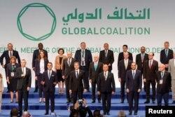 امریکی وزیر خارجہ بلنکن اٹلی میں شام اور اسلامک اسٹیٹ سے متعلق عالمی اتحاد کے اجلاس میں ۔ 28 جون 2021