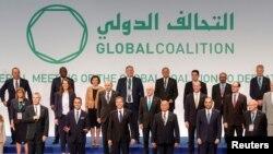 IŞİD'le Mücadele Küresel Koalisyonu toplantısı.