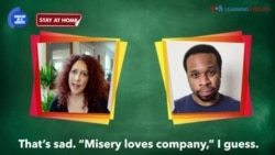 English in a Minute: Misery Loves Company