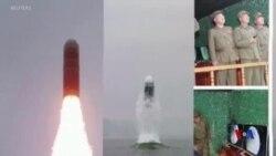 北韓宣稱成功試射新型潛射彈道導彈