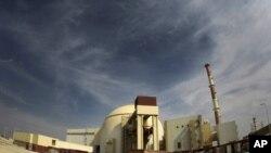 یک نمای عمومی پایگاه ذروی بوشهر ایران