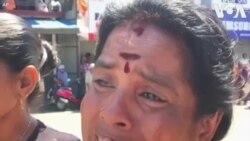 Người thân đau đớn thương tiếc nạn nhân vụ đánh bom Sri Lanka