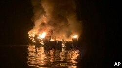 Hình ảnh tàu thủy gặp nạn.