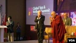 The Dalai Lama Addresses the Global Spa and Wellness Summit (source:dalailama.com)