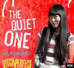 An ad for the movie Pitch Perfect. Is this how Americans think of Asians?