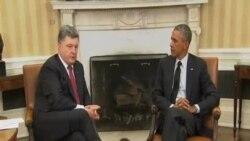 奧巴馬保證施加國際壓力外交解決烏克蘭危機
