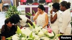 Multitudinario funeral en La Habana