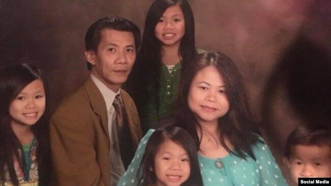 Ông Michael Phương Minh Nguyễn và gia đình. Facebook Find Michael Phuong Minh Nguyen.