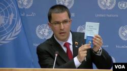 """Jorge Arreaza afirmó que el presidente en disputa Nicolás Maduro anunciaría la creación de un registro para llevar el control de la afectación como consecuencia del """"bloqueo"""" del gobierno del presidente Donald Trump."""