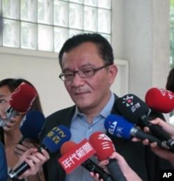 台湾民进党立院党团书记长高志鹏6月13号在立法院