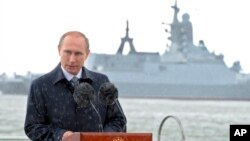 러시아의 블라디미르 푸틴 대통령. (자료사진)