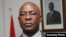 António Bento Bembe, secretário de Estado dos Direitos Humanos de Angola