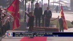 Takim mes Shkupit dhe Beogradit