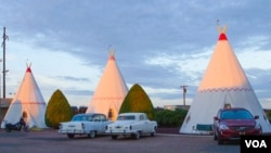 The Wigwam Motel in Holbrook, Arizona.