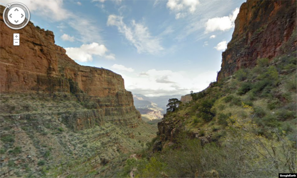 The Bright Angel Trail provides some of the most spectacular views of the Grand Canyon.