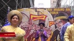 Diễn hành văn hóa Việt tại New York