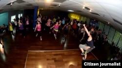Spotlight Studio Dance and Fitness di Gaithersburg, Maryland (foto/dok: Gloria Estrada)