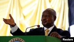 Perezida wa Uganda Yoweri Museveni