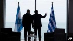 İsrail Başbakanı Benyamin Netanyahu, enerji işbirliği konusunu geçen Haziran'da Selanik'te Yunanistan Başbakanı Aleksis Çipras'la görüşmüştü.