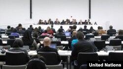 미국 뉴욕 유엔본부에서 유엔총회 산하 제3위원회 회의가 열리고 있다. 제3위원회는 사회적, 인도적, 문화적 문제를 다룬다.