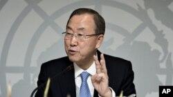 Sekjen PBB Ban Ki-Moon hari Senin (4/11) berharap siklus krisis di kawasan Sahel dapat diakhiri (foto: dok).