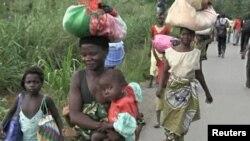 Des déplacés en Centrafrique