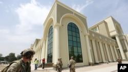 گوشه از تعمیر جدید وزارت دفاع افغانستان