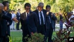 ျမန္မာျပည္ကိုေရာက္ရွိေနတဲ့ ဂ်ပန္ႏုိင္ငံျခားေရး၀န္ႀကီး Taro Kono ( ဇန္နဝါရီ ၁၁-၂၀၁၈)