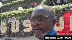 Leo Mugabe, Nephew of Former President Nelson at the Blue Roof