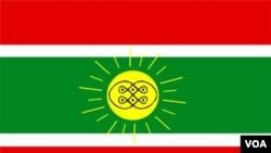 Bandeira do Movimento do Protectorado da Lunda Tchokwe