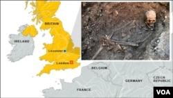 Hài cốt của Vua Richard III được tìm thấy dưới bãi đậu xe ở thành phố Leicester.