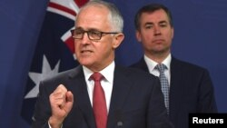 Thủ tướng Australia Malcolm Turnbull nói về âm mưu khủng bố nhằm vào máy bay, 30/7/2017