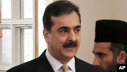 Pakistani Prime Minister Yusuf Raza Gilani (file photo - January 12, 2011)