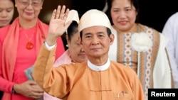 Newly elected Myanmar President Win Myint