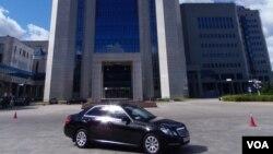 位于莫斯科的俄罗斯天然气工业公司总部大楼。