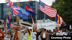 In Geneva, Cambodians Demand for Fair Elections