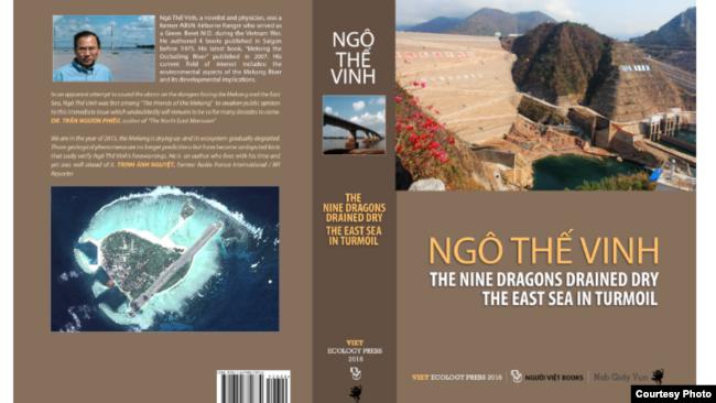 Bìa sách Cửu Long cạn dòng Biển Đông dậy sóng của nhà văn Ngô Thế Vinh