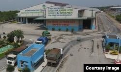 Khu xử lí rác của Vietnam Waste Solutions ở Đa Phước, Bình Chánh (Ảnh: Vietnam Waste Solutions)