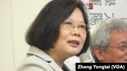 台灣總統當選人蔡英文。