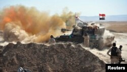 Binh sĩ Iraq tại Tal Afar.