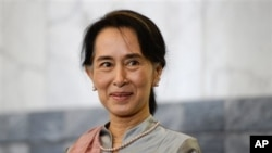 Bà Aung San Suu Kyi, chính trị gia nổi tiếng nhất của Miến Ðiện
