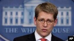 Juru Bicara Gedung Putih, Jay Carney (Foto: dok)